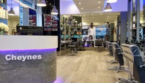 the best hairdressers in Edinburgh at Cheynes Hair Salon, Bruntsfield Avenue