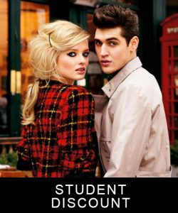 STUDENT-DISCOUNTs, cheynes hair salons, edinburgh