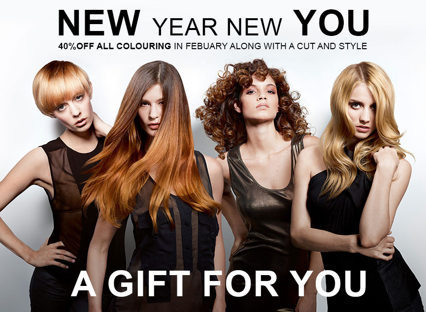 Hair Colour Offer – 40% OFF in February