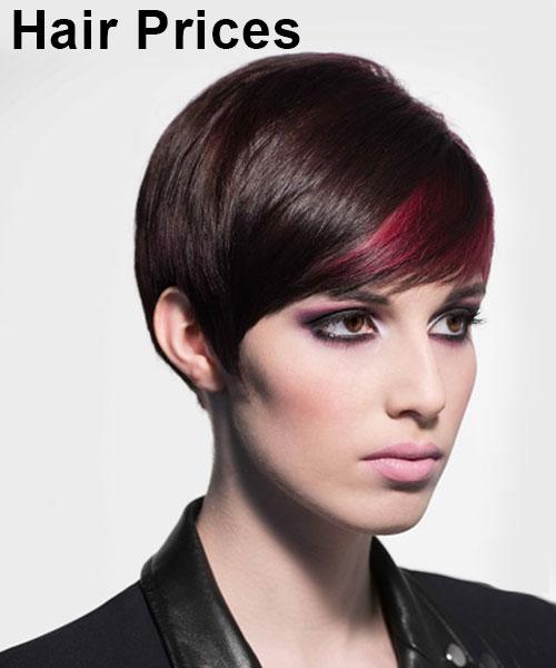 Hair Prices, Top Hair Salons in Edinburgh, Scotland