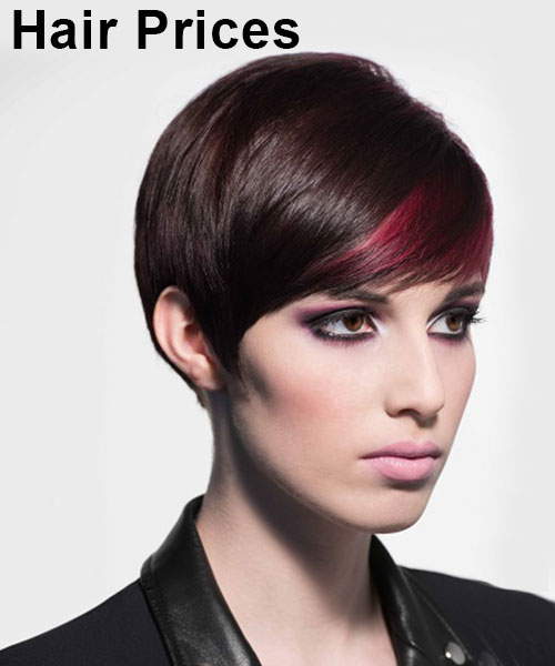 Hair Prices, Top Hair Salons in Edinburgh, Scotland