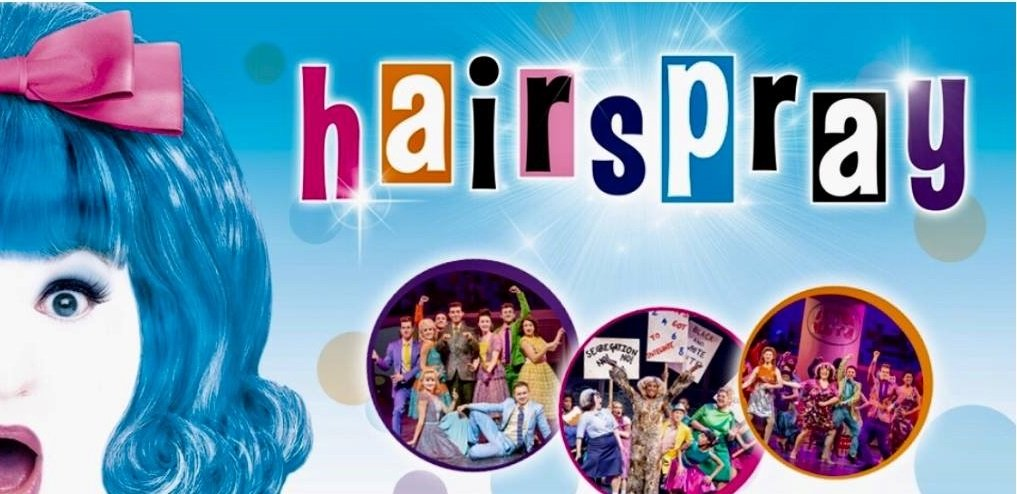 cheynes hairstylists do hair at Hairspray the Musical in Edinburgh