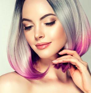pastel hair colour trend