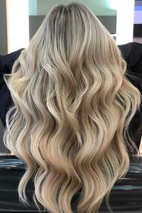 wavy bridal hairstyle, cheynes hair salon, edinburgh