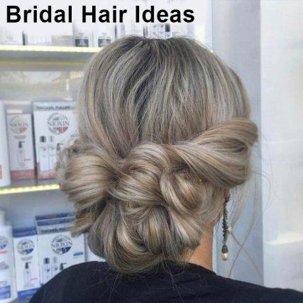 Bridal Hair Ideas at Cheynes Hairdressing Salon in Edinburgh