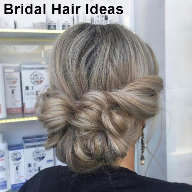Bridal Hair Ideas at Cheynes Hairdressing Salon in Edinburgh