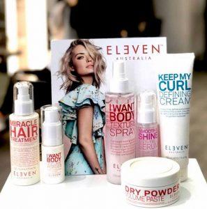 ELEVEN AUSTRALIA HAIR STYLING PRODUCTS, CHEYNES HAIR SALONS, EDINBURGH
