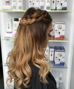BRAIDED FESTIVAL HAIRSTYLES CHEYNES HAIR SALONS EDINBURGH
