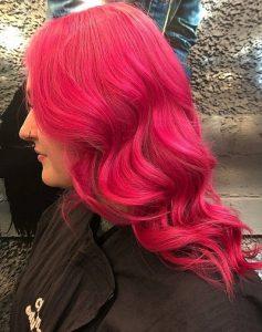 VIBRANT HAIR COLOURS FOR FESTIVALS SALON HAIRDRESSERS IN EDINBURGH