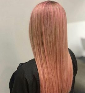 ROSE GOLD HAIR COLOUR TOP HAIRDRESSERS IN EDINBURGH 939x1024 1