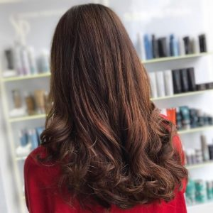 brunette autumn hair colour trend cheynes hair salons edinburgh