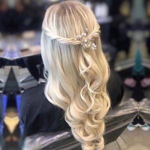 WAVY HAIR FOR WEDDINGS TOP HAIR SALONS EDINBURGH