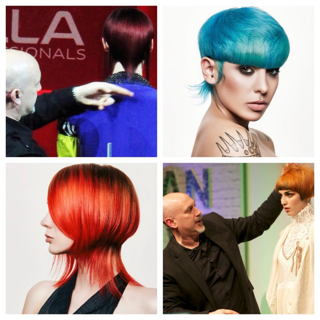 award winning hairdressers in edinburgh Wella Trend Vision winners
