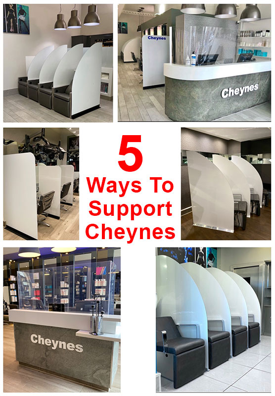 5 Ways To Support Cheynes Hairdressing
