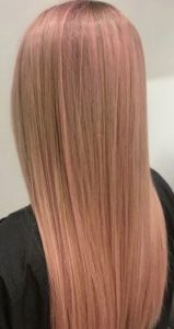 Pastel hair colour at Edinburgh's best hairdressers