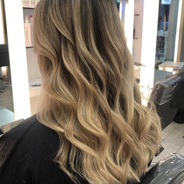 blonde balayage, cheynes hair salons, edinburgh