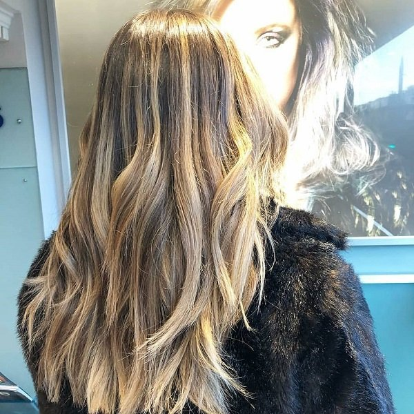 blonde balayage, cheynes hairdressing, edinburgh