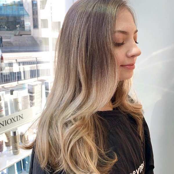 blonde balayage, cheynes hairdressing salons, edinburgh