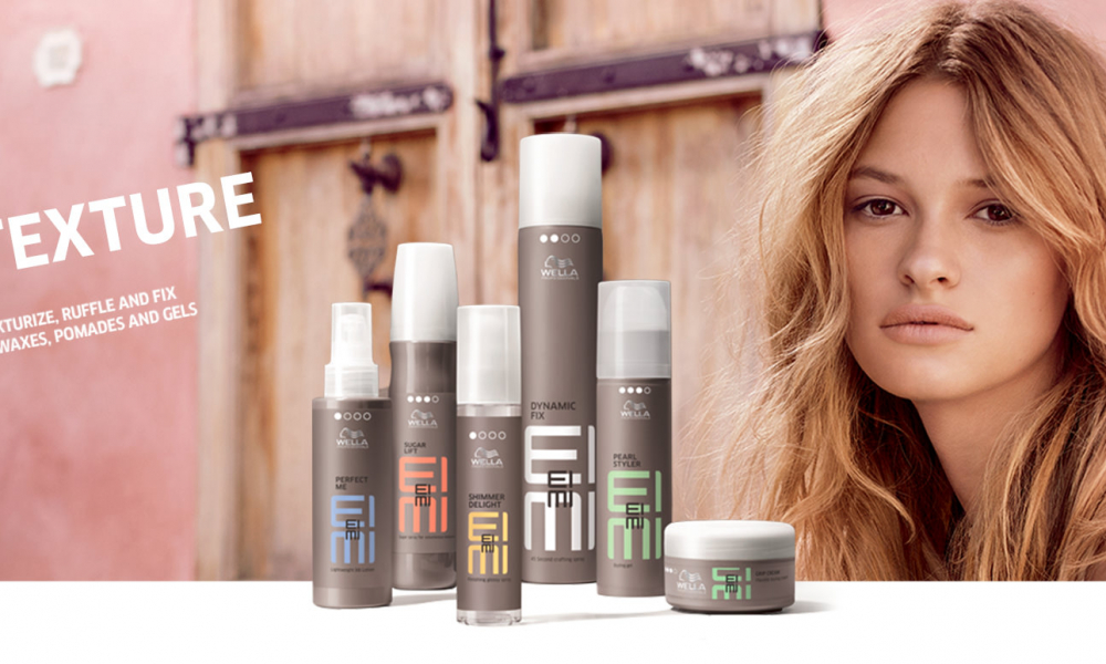 Wella Eimi texture products