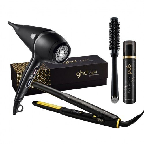 ghd v gold mini and air bundle