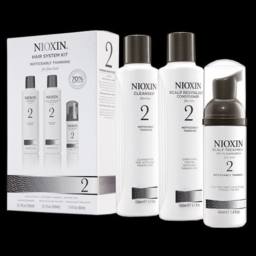 nioxin three part system