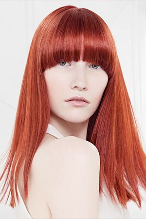 Hairstyles with fringes, cheynes hair salons, edinburgh